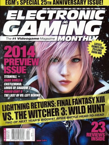 Electronic Gaming Monthly Issue 262 Winter 2014 (Cover 2 of 4)