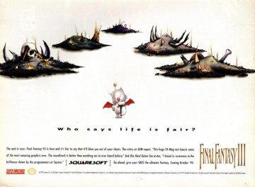 Final Fantasy 3 USA 2 Super Nintendo