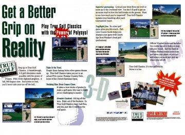 True Golf Classics Waialae Super Nintendo