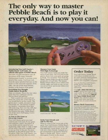 True Golf Classics - Pebble Beach