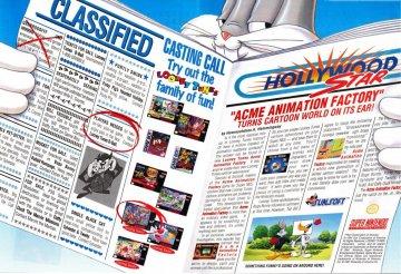Acme Animation Factory Super Nintendo