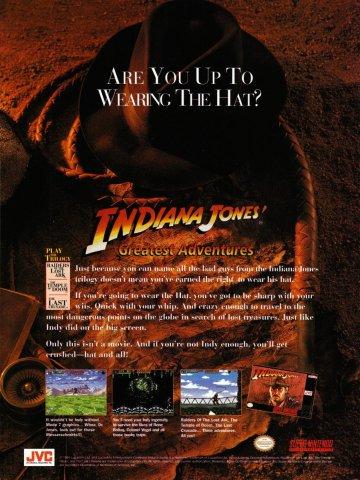 Indiana Jones Greatest Hits Super Nintendo