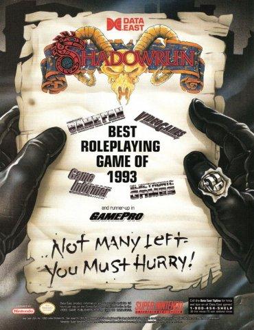ShadowRun (Super Nintendo)