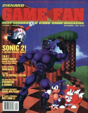 Diehard GameFan Issue 02 December 1992 (Volume 1 Issue 2)