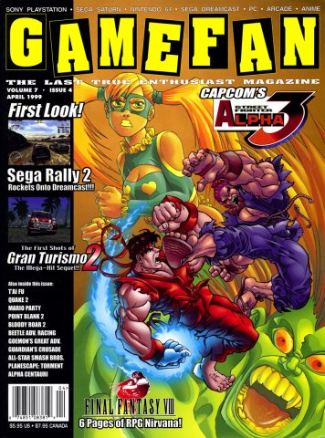 GameFan Issue 68 April 1999 (Volume 7 Issue 4)