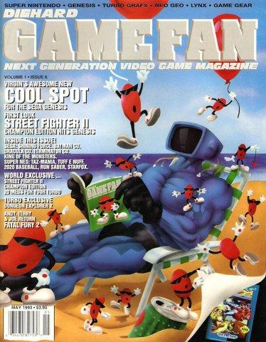 Diehard GameFan Issue 06 May 1993 (Volume 1 Issue 6)