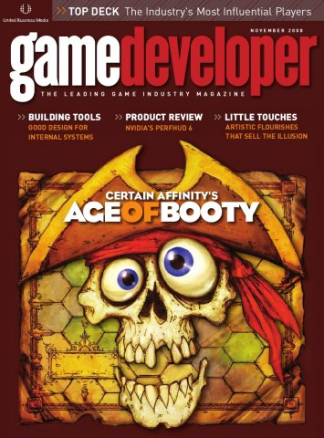Game Developer 151 Nov 2008