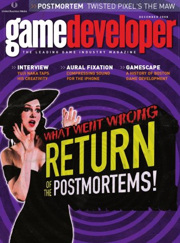 Game Developer 152 Dec 2008