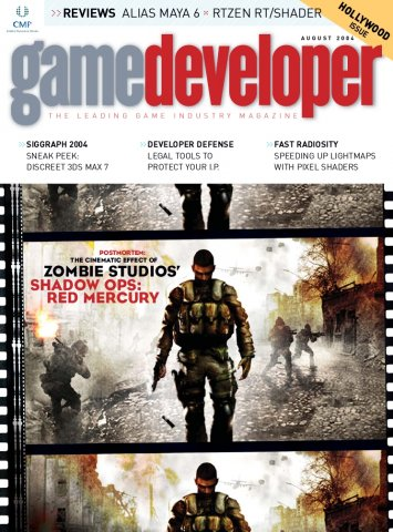 Game Developer 104 Aug 2004