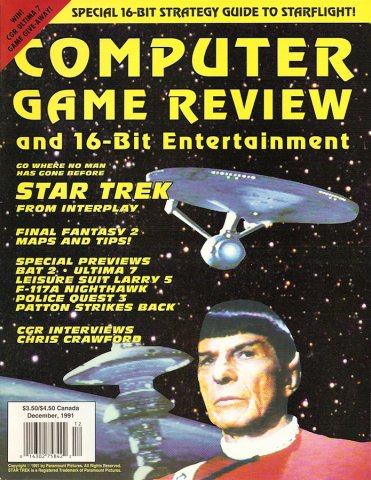 Computer Game Review Issue 05 (December 1991)