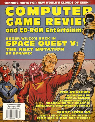 Computer Game Review Issue 17 (December 1992)
