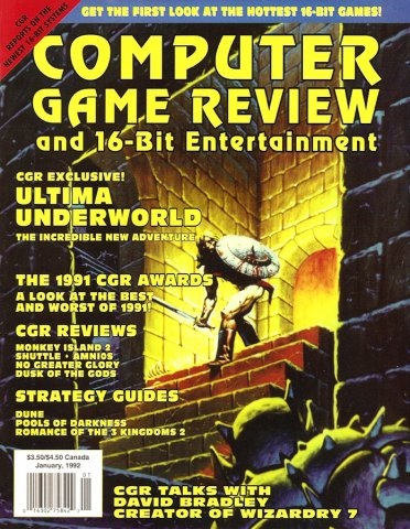 Computer Game Review Issue 06 (January 1992)
