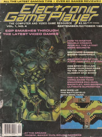 Electronic Game Player Issue 4 (September/October 1988)
