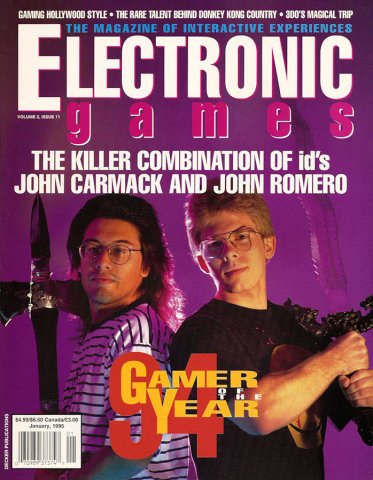 Electronic Games Issue 28 January 1995 (Volume 3 Issue 4)