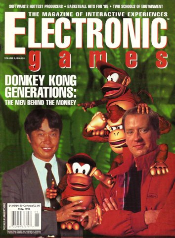 Electronic Games Issue 32 May 1995 (Volume 3 Issue 8)
