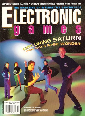 Electronic Games Issue 33 June 1995 (Volume 3 Issue 9)