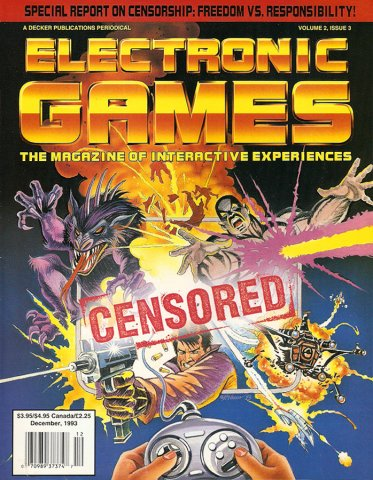 Electronic Games Issue 15 December 1993 (Volume 2 Issue 3)