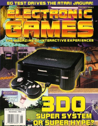 Electronic Games Issue 14 November 1993 (Volume 2 Issue 2)