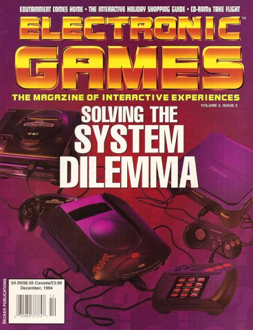 Electronic Games Issue 27 December 1994 (Volume 3 Issue 3)