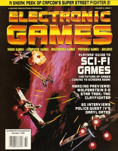 Electronic Games Issue 13 October 1993 (Volume 2 Issue 1)