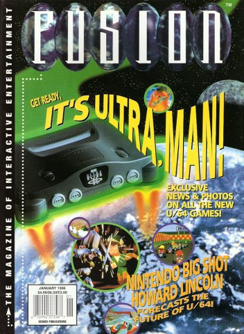Fusion Issue 6 January 1996 (Volume 1 Number 6)