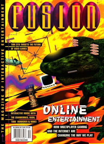 Fusion Issue 5 December 1995 (Volume 1 Issue 5)
