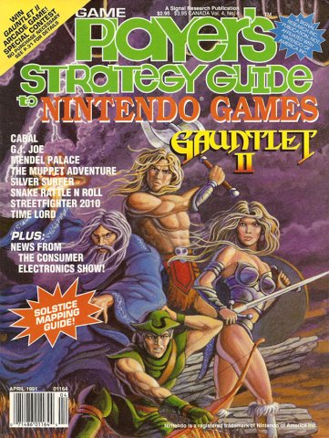 Game Player's Strategy Guide to Nintendo Games Vol.4 No.04 (April 1991)