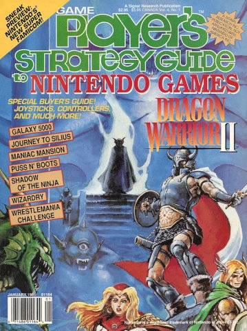 Game Player's Strategy Guide to Nintendo Games Vol.4 No.01 (January 1991)