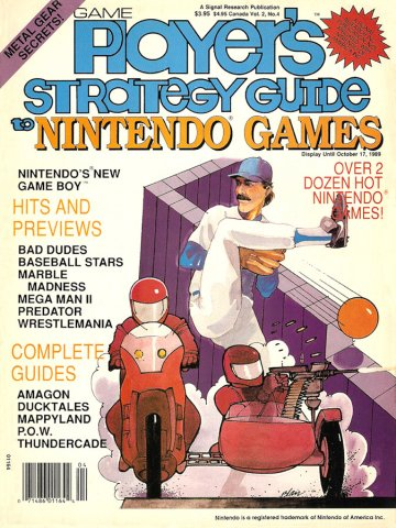 Game Player's Strategy Guide to Nintendo Games Vol.2 No.4 (August/September 1989)