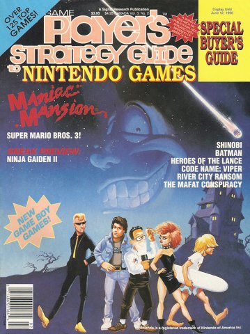 Game Player's Strategy Guide to Nintendo Games Vol.3 No.2 (April-May 1990)