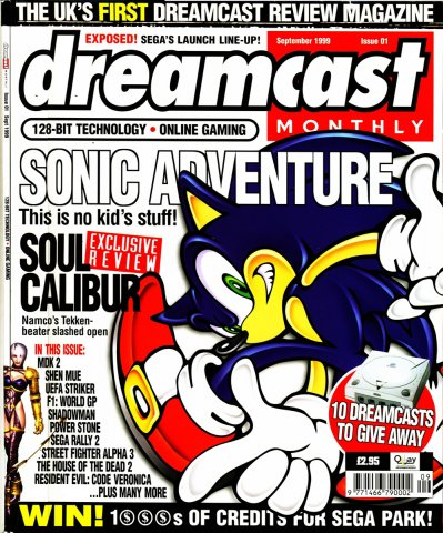 Dreamcast Monthly Issue 01 (September 1999)