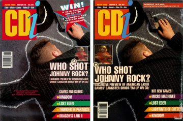 Comparison - Cdi Magazine issues 5(US) and 12(UK)