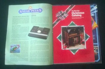 Atari Age (1982) v1n3 Christmas catalog supplement