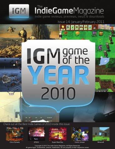 Indie Game Magazine 014 January-February 2011