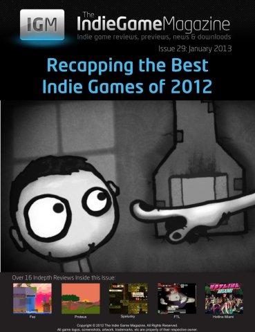 Indie Game Magazine 029 January 2013