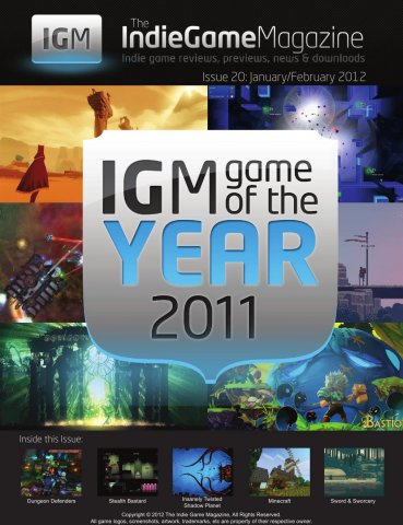 Indie Game Magazine 020 January-February 2012