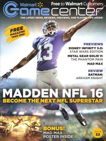 Walmart GameCenter Issue 032