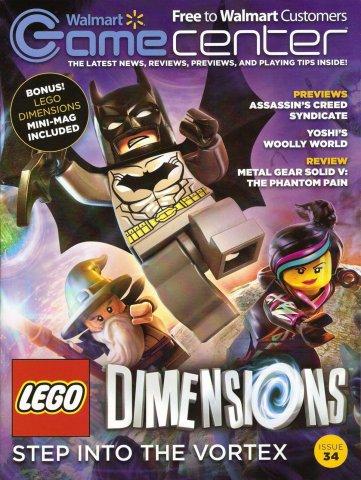 Walmart GameCenter Issue 034