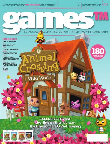 Games TM Issue 040 (Christmas 2005) (Cover 1 Of 4 - Spring)