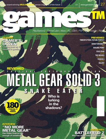 Games TM Issue 027 (Christmas 2004)