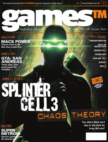 Games TM Issue 022 (August 2004)