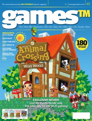 Games TM Issue 040 (Christmas 2005) (Cover 2 Of 4 - Summer)