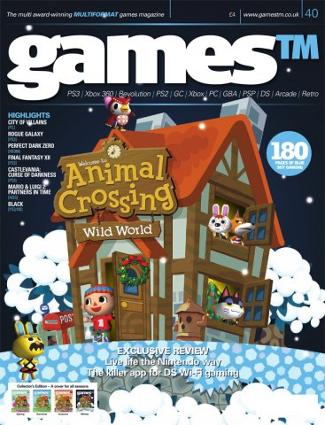 Games TM Issue 040 (Christmas 2005) (Cover 4 Of 4 - Winter)