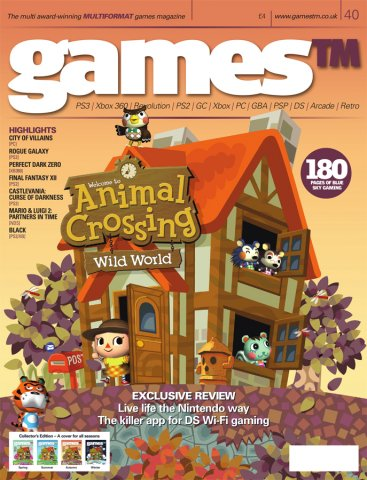 Games TM Issue 040 (Christmas 2005) (Cover 3 Of 4 - Autumn)