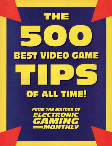 The 500 Best Video Game Tips Of All Time!