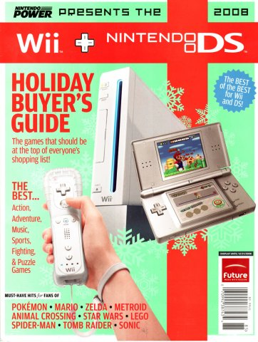 2008 Wii + Nintendo DS Holiday Buyer's Guide