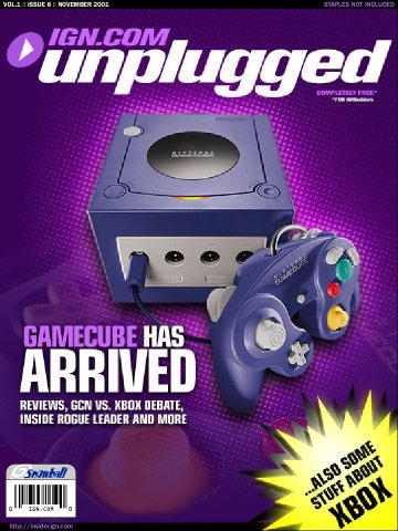 IGN Unplugged Issue 08 Cover 1 of 2 (November 2001)