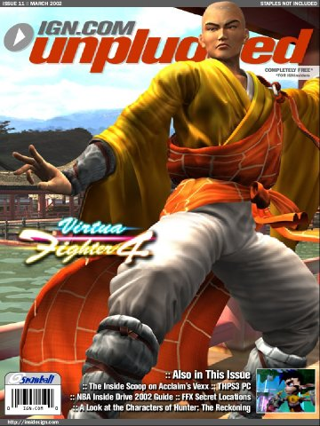IGN Unplugged Issue 11 Cover 5 of 6 (March 2002)