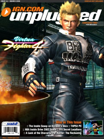 IGN Unplugged Issue 11 Cover 1 of 6 (March 2002)