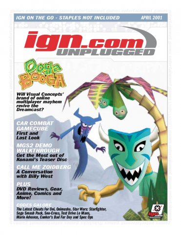 IGN Unplugged Issue 01 (April 2001)
